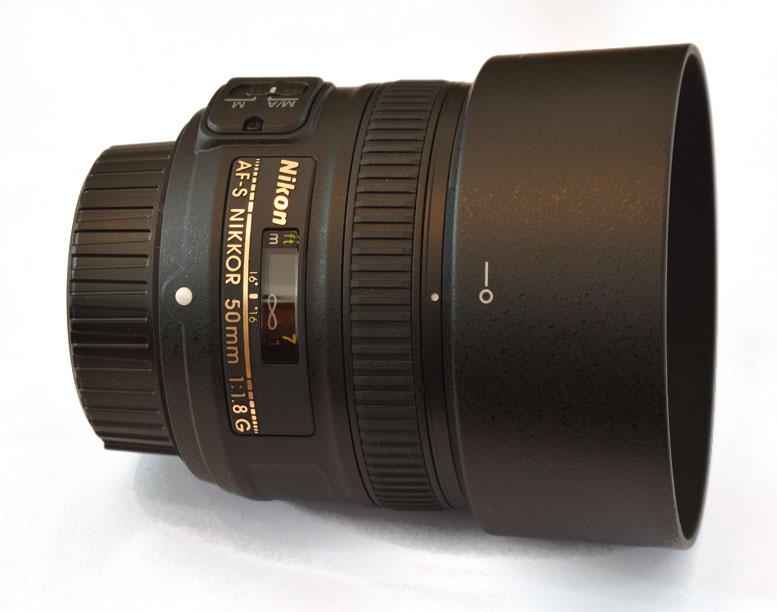Nikon AF-S Nikkor 50mm f1.8 G Festbrennweite