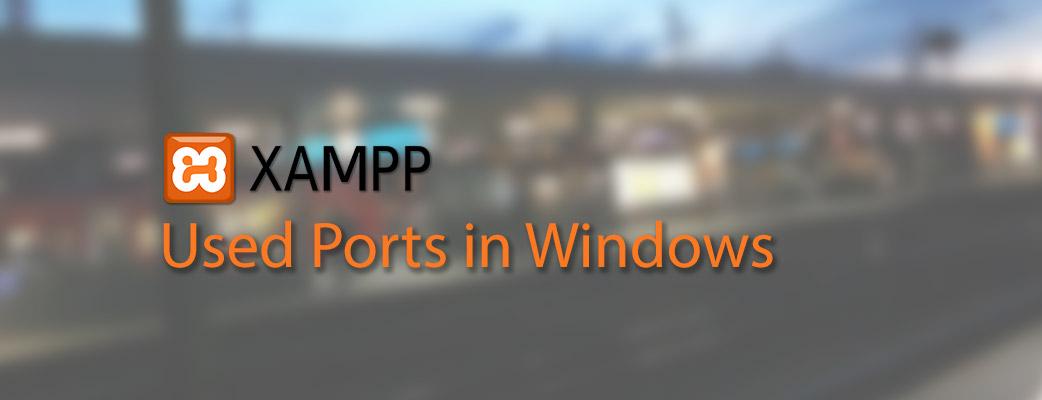 Belegte Ports in Xampp