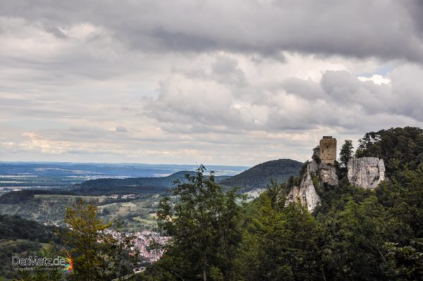 Burgruine in Baden-Württemberg