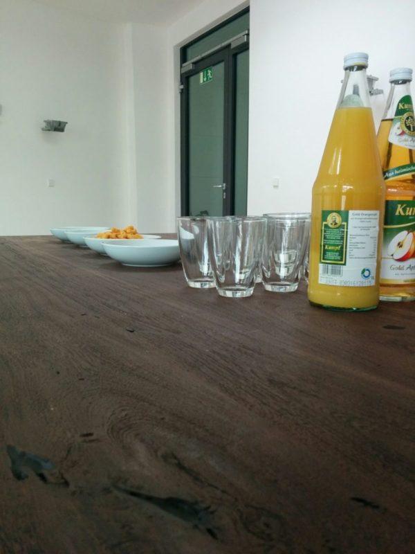 Trinken und Knabberzeug für den Magento Stammtisch Stuttgart