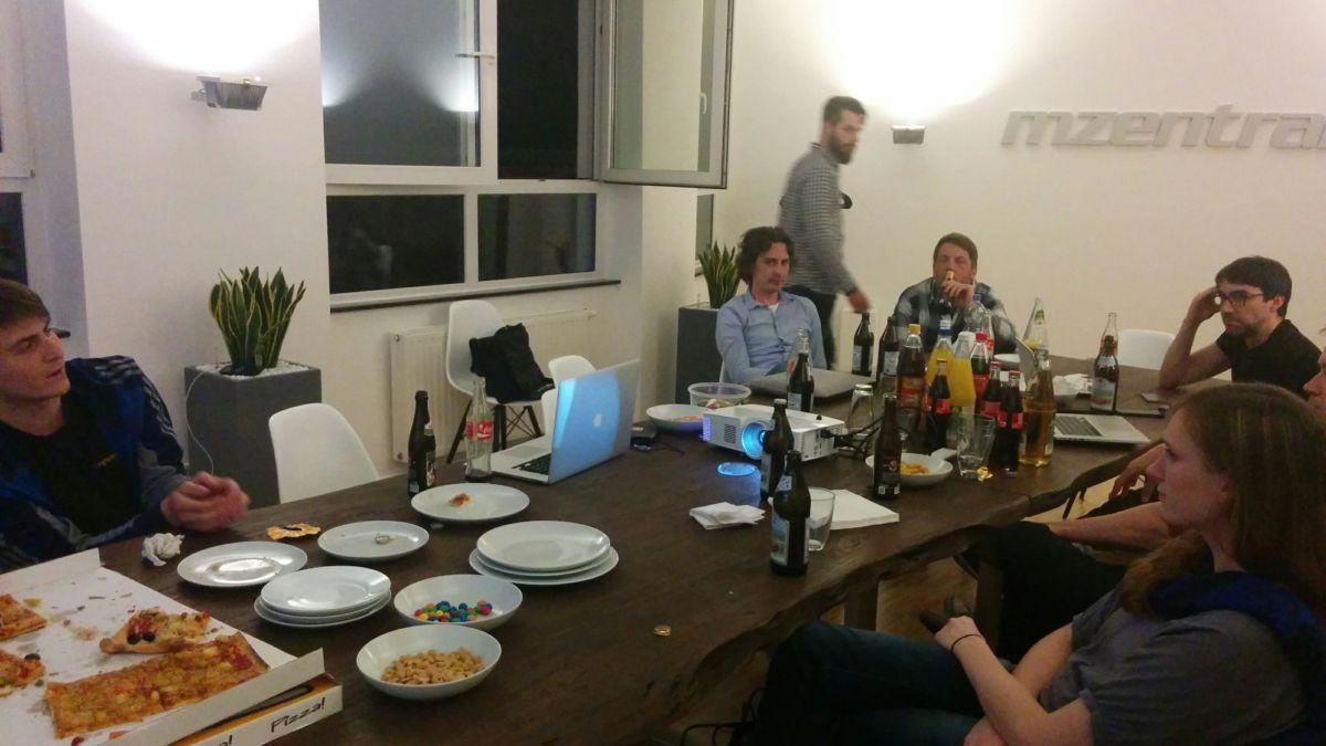 Essen muss sein - Magento Stammtisch Stuttgart