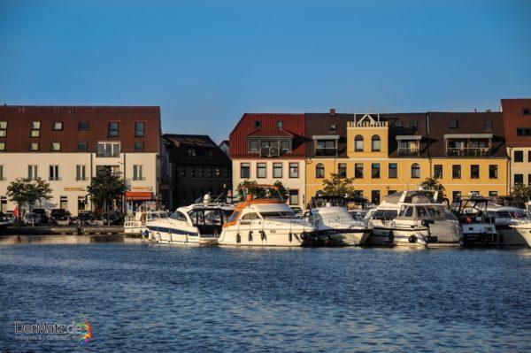 Hafen / Marina von Waren an der Müritz