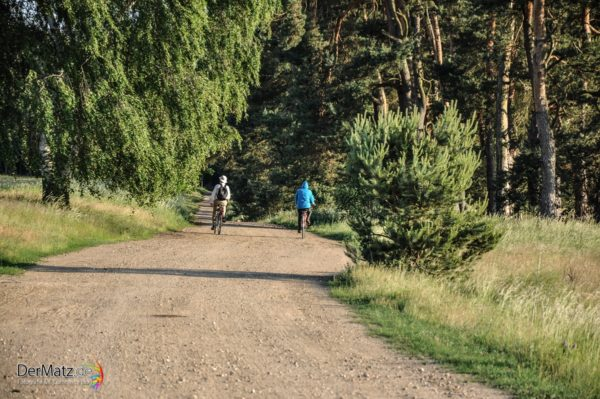 Radfahrer in Mecklenburg Vorpommern