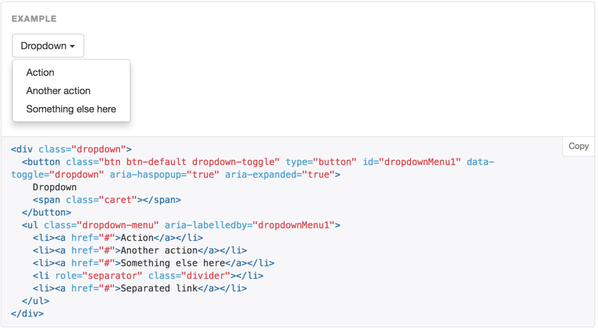 Bootstrap Example
