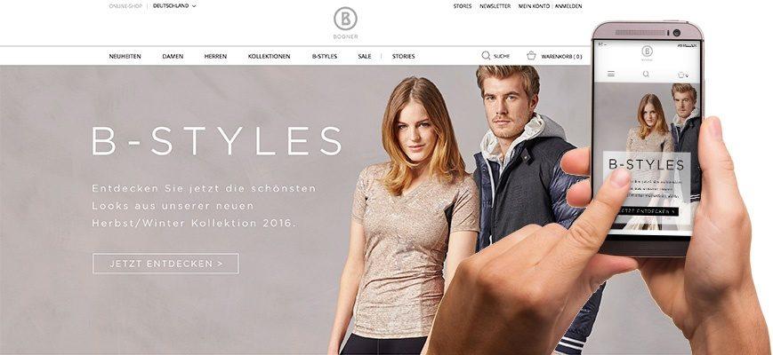 Bogner Fashionstore von mzentrale