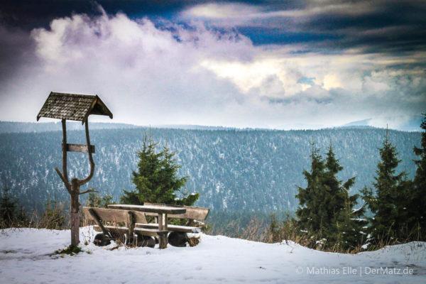 Thüringen - Aussicht vom Schneekopf