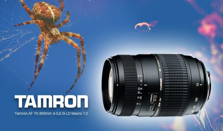 Teaser Tamron AF 70-300mm 4-5,6 Di LD Macro 1:2